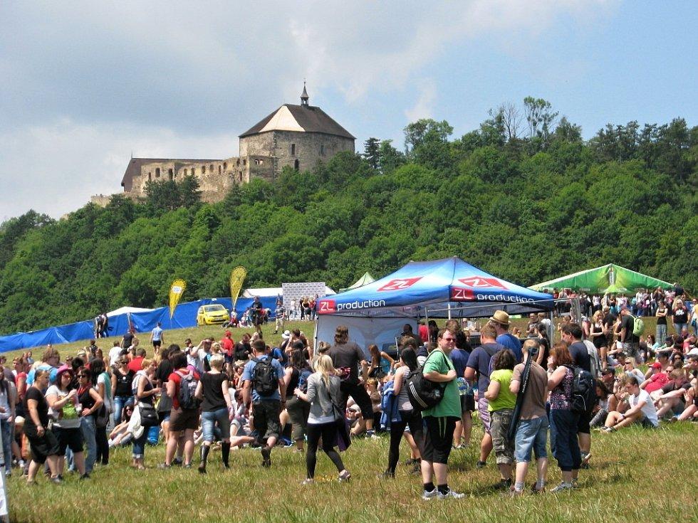 Festival České hrady 2014 na Točníku