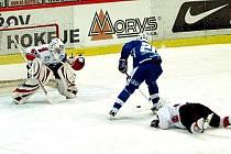 1. liga ledního hokeje: Havířov - Beroun 2:3