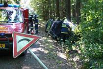 Tragická nehoda u obce Svatá