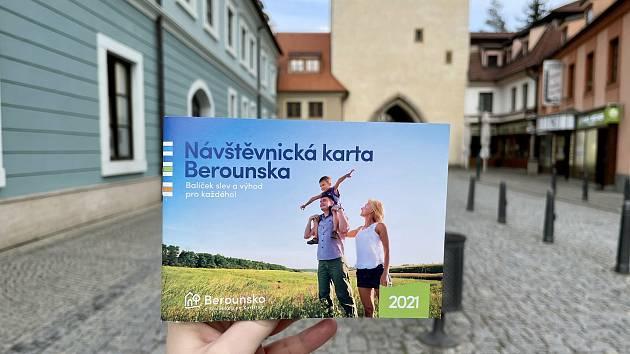 Návštěvnická karta Berounska.