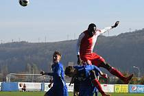 Třetiligoví fotbalisté Králova Dvora zdolali Slavii 2:0.