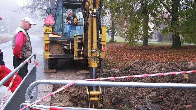 Vodovod vyřeší v Kotopekách nedostatek vody