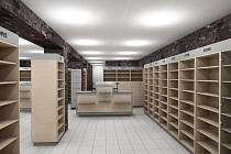 Takhle vypadala lékárna před dvěma měsíci. Nyní už jsou regály zaplněné léky.