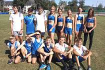 Na berounských závodech se představili i mladší žáci a žákyně domácího klubu.