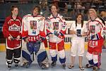 All star tým MS - zleva: Jackie Jarrellová (CAN), Petra Šmardová (CZE), Alena Polenská (CZE), Marina Driciová (FRA), Kateřina Mrázová (CZE).