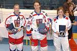 Nejlepší obránkyně MS: Eva Holešová (CZE), nejlepší útočnice a nejlepší střelkyně: Alena Polenská (CZE), nejlepší brankářka turnaje: Marie Binetová (FRA)