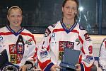 Nejlepší obránkyně MS: Eva Holešová (CZE), nejlepší útočnice a nejlepší střelkyně: Alena Polenská (CZE)