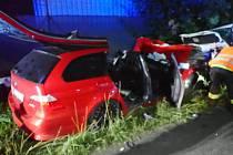 Smrtelná nehoda u Hořovic.
