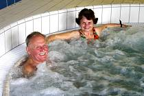 Aquapark v Berouně.