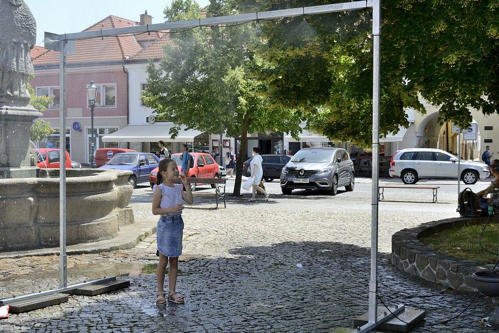 Mlžná brána v Berouně.
