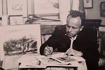 Malíř Václav Karel.