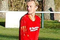 Jan Kačírek vstřelil čtyři góly v jednom utkání.