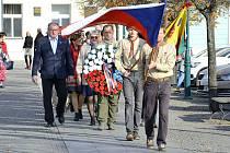 Pietní akt k 103. výročí vzniku Československa