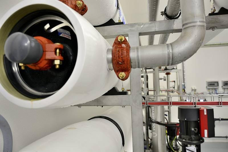 V Zaječově používají novou technologii nanofiltrace