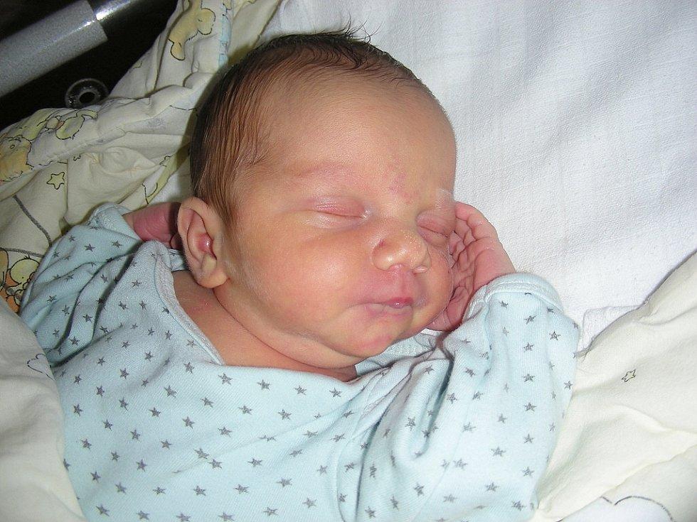 Velkou radost má sedmiletý Vojtíšek z Březové, kterému rodiče Hana a Milan Kohoutovi pořídili brášku Jana. Honzík se narodil 30. srpna a jeho porodní míry byly 3,67 kg a rovných 50 cm.