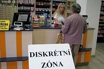 Některé lékárny vycházejí klientům vstříc a zřizují diskrétní zóny