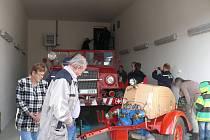 Otevření hasičské zbrojnice v Lochovicích