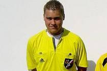 Fotbalový rozhodčí Martin Červenka