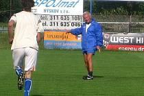 FK Hořovicko - trenér Jaromír Mysliveček.