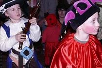 Dětský karneval U Bělohlávků v Králově Dvoře