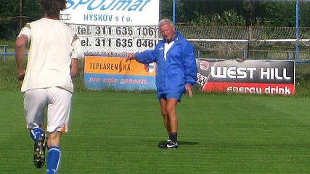 FK Hořovicko - trenér Jaromír Mysliveček