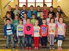 Žáci 1. A  ze 2. základní školy Preislerova ulice Beroun.