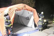 Berounští hasiči měli další cvičení