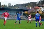 S Viktorií Jirny Králův Dvůr po remíze 1:1 zvítězil na penalty 4:3.