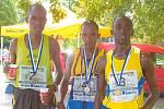 Vytrvalostního závodu Žebrácká pětadvacítka se zúčastňuje pravidelně i světová běžecká elita. V roce 2011 to byli například závodníci z Etiopie a Keni.