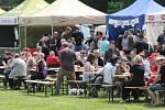 Na louce pod zámkem se o víkendu konaly už třetí Slavnosti piva.