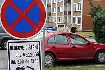Řidiči nerespektovali zákazové značky