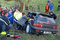 K nehodě přivolal dispěčink vzdálenější záchranku/ilustrační foto