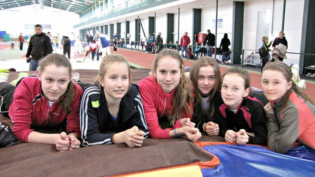 Atletika: Loko Beroun v Jablonci