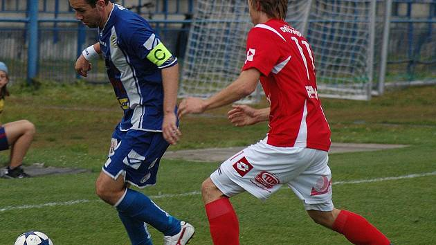 ČFL: Králův Dvůr - Pardubice 1:0