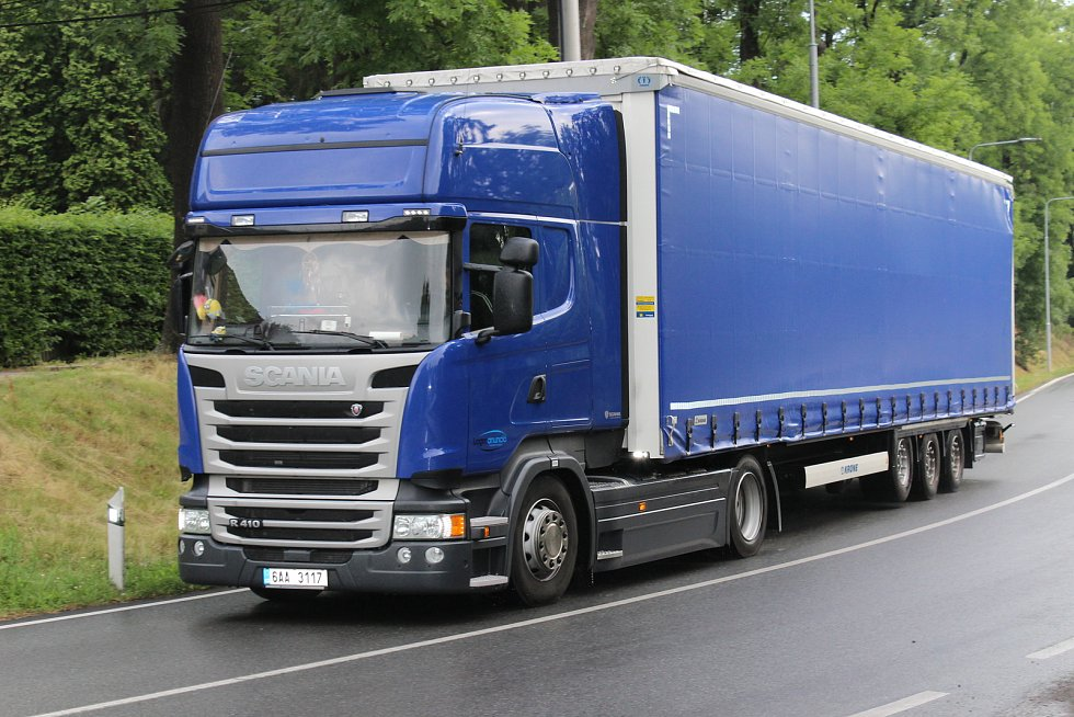 Přes centrum Hořovic projede každý den na 150 kamionů. Nejvíc jezdí po hlavních silnicích v Tyršově a Masarykově ulici.