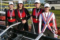 Berounské juniorky vybojovaly dvě zlaté medaile