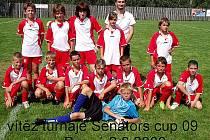 Mladší žáci Českého Lva - Unionu Beroun vyhráli Senator´s cup 2009
