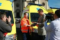 Berounská záchranka má novou sanitku