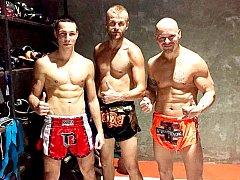 Zleva: Jakub Stelšovský, Milan Přibil a Jan Landa