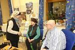 Ze setkání se spisovatelem, publicistou a scénáristou Otomarem Dvořákem v Městské knihovně v Berouně.