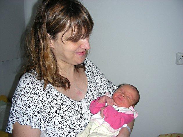 Šťastná maminka Iveta Anýžová z Králova Dvora chová v náručí dcerku Karolínku, které vybral jméno tatínek Michal Pánek. Karolínka se narodila 12. ledna 2015, vážila 3,21 kg a měřila 48 cm. Ze sestřičky se raduje bratr Jakub Anýž (20).