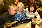 Ze setkání v restauraci Na Knížecí v Králově Dvoře u příležitosti 50. výročí založení turistického oddílu Tuláci.