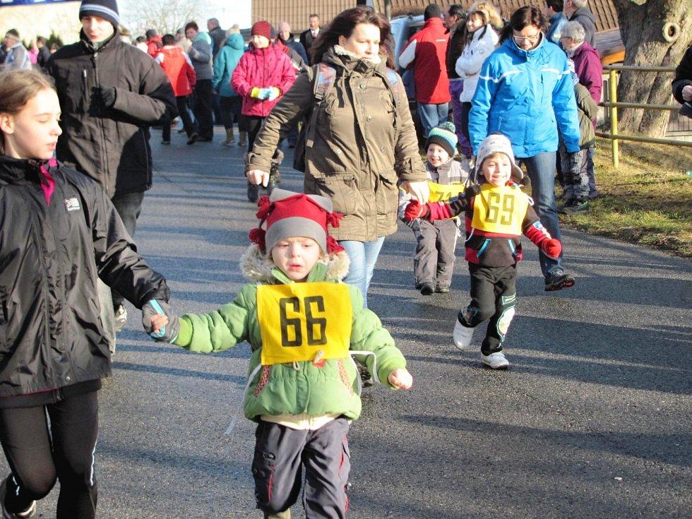 Běžecký závod přilákal desítky diváků a závodníků