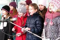 Děti vítaly jaro na berounském náměstí