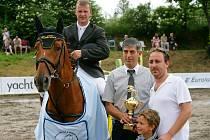 Aleš Opatrný zažil velice vydařený květen, kdy vyhrál čtyři závody a navíc si připsal jedno druhé místo.