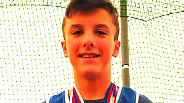 Berounský atlet uspěl v konkurenci Středočechů.