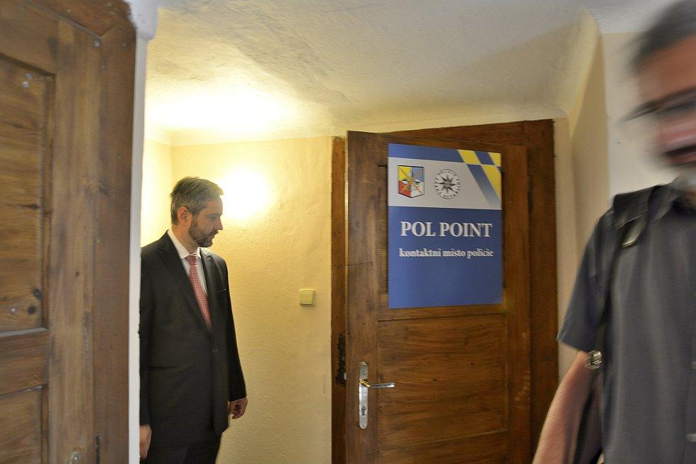 Slavnostní otevření Pol Pointu na Křivoklátu.
