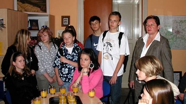 Němečtí studenti.