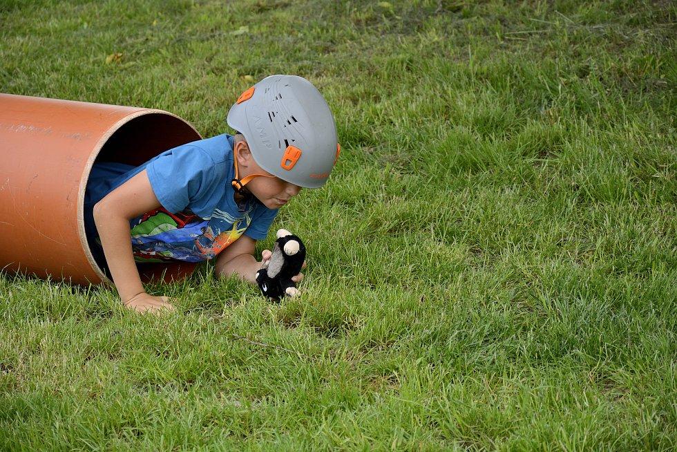Dětský den na Tetíně.