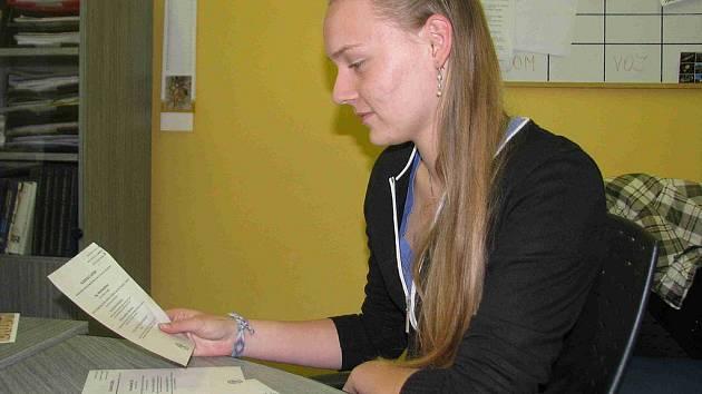 Studentka Eliška prožívá své první volby.
